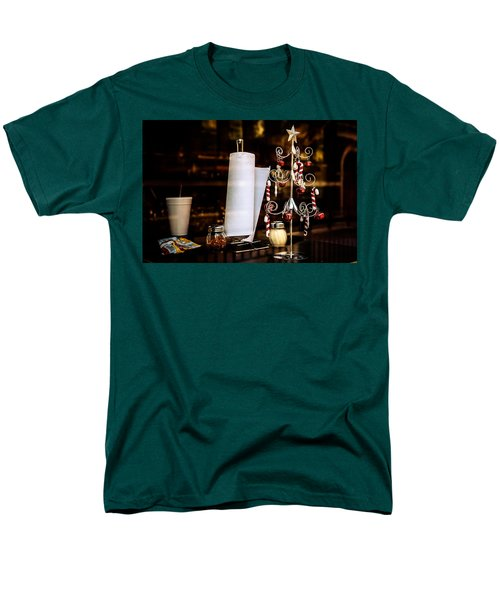 A Fritos Kind Of Christmas Men's T-Shirt  (Regular Fit) by Melinda Ledsome