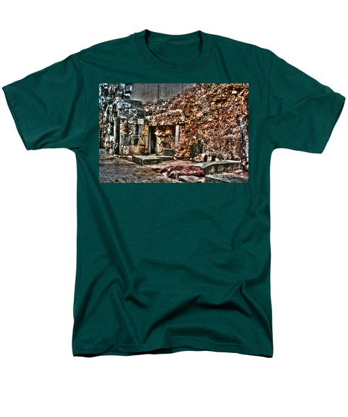 Men's T-Shirt  (Regular Fit) featuring the photograph A Quiet Place To Pray by Doc Braham