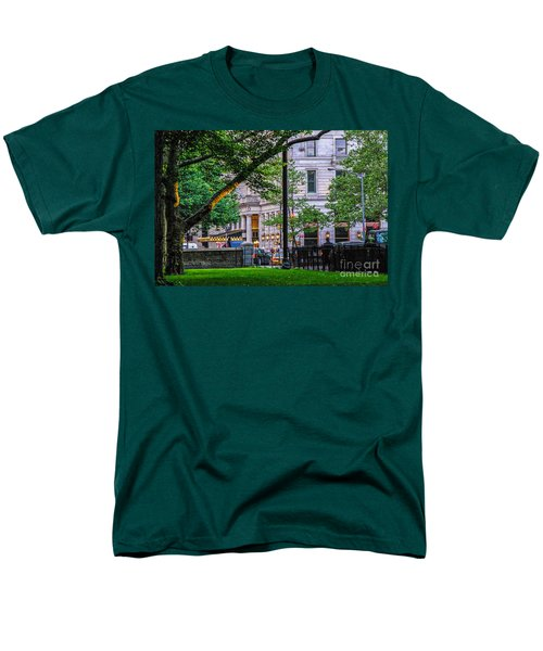 A View From Central Park Men's T-Shirt  (Regular Fit) by Mary Carol Story