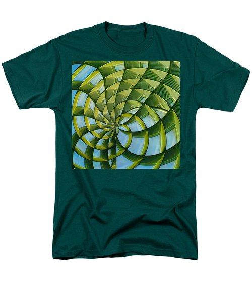 Abstraction A La M. C. Escher Men's T-Shirt  (Regular Fit) by Gary Holmes