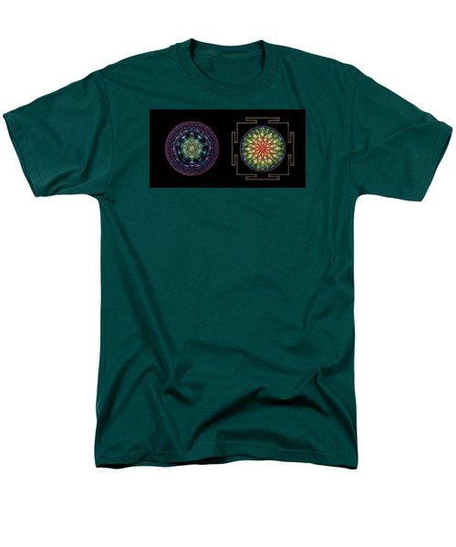 Men's T-Shirt  (Regular Fit) featuring the painting Abundance  Prosperity by Keiko Katsuta
