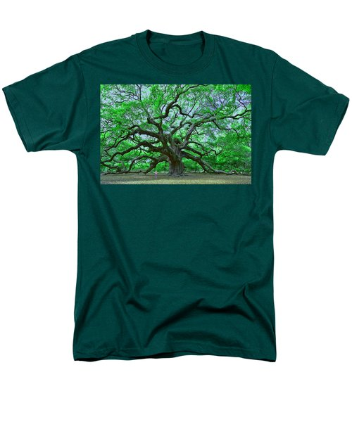 Angel Oak Men's T-Shirt  (Regular Fit) by Allen Beatty