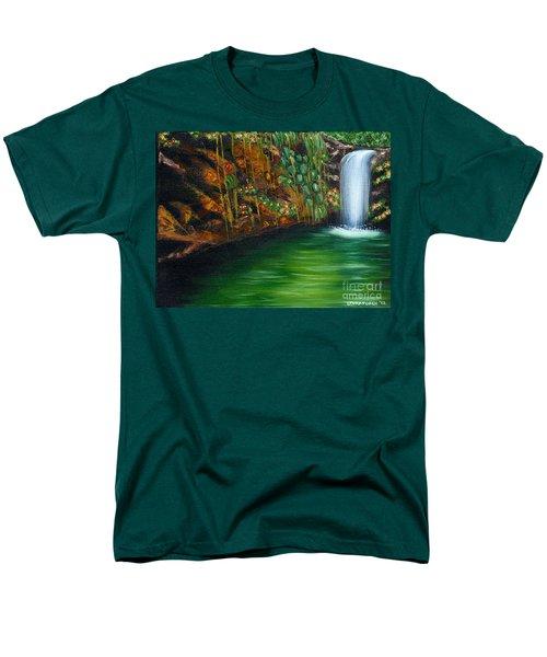Annadale Waterfall Men's T-Shirt  (Regular Fit)