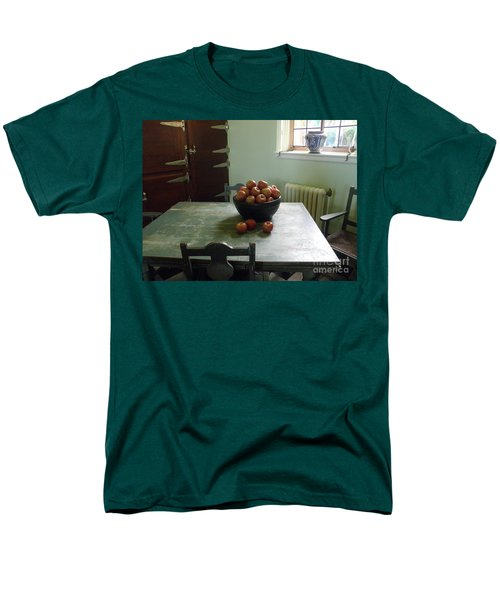 Men's T-Shirt  (Regular Fit) featuring the photograph Apples by Valerie Reeves