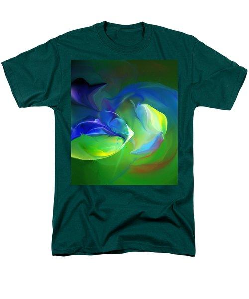 Men's T-Shirt  (Regular Fit) featuring the digital art Aquatic Illusions by David Lane