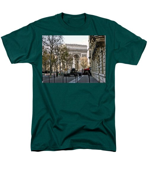 Arc De Triomphe Paris Men's T-Shirt  (Regular Fit)