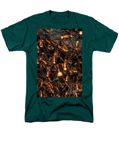 Army Ant Bivouac Site Men's T-Shirt  (Regular Fit) by Gregory G. Dimijian, M.D.