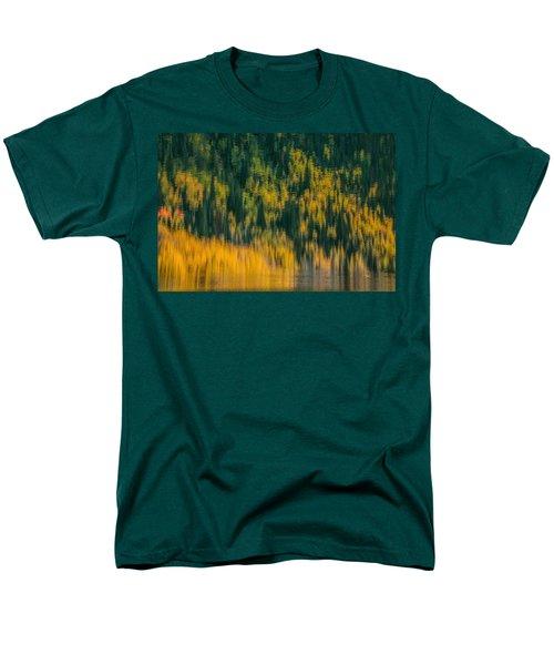 Men's T-Shirt  (Regular Fit) featuring the photograph Aspen Abstract by Ken Smith