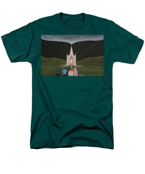 Men's T-Shirt  (Regular Fit) featuring the painting Awakening by Tim Mullaney