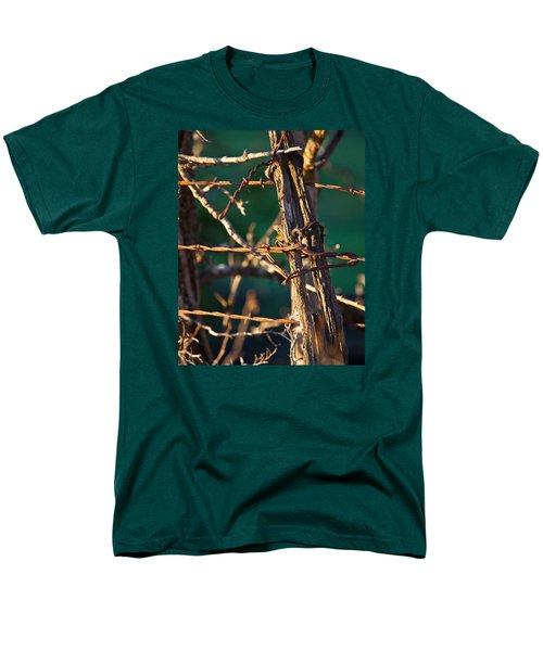 Don't Fence Me In Men's T-Shirt  (Regular Fit) by Mark Alder