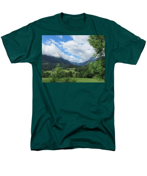 Bavarian Countryside Men's T-Shirt  (Regular Fit) by Pema Hou