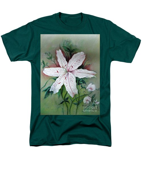 Men's T-Shirt  (Regular Fit) featuring the painting Beauty For Ashes by Hazel Holland
