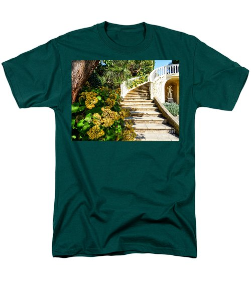 Men's T-Shirt  (Regular Fit) featuring the photograph Bienvenue by Juergen Klust
