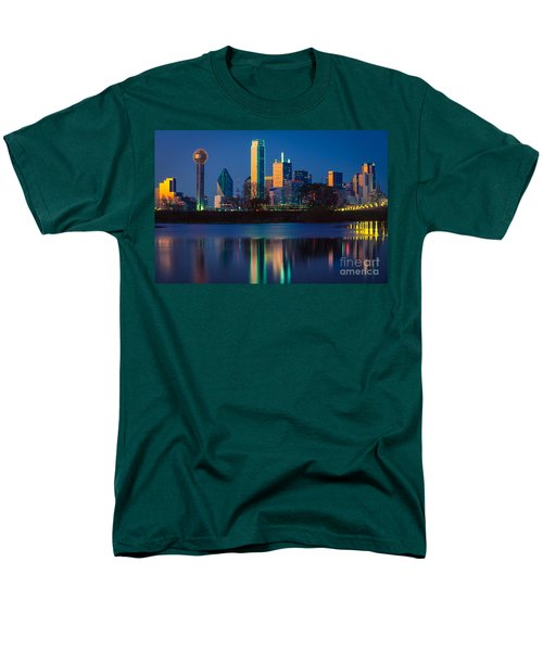 Big D Reflection Men's T-Shirt  (Regular Fit) by Inge Johnsson