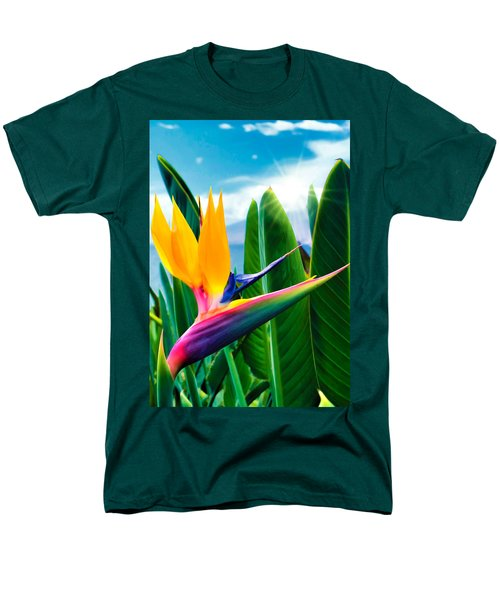 Bird Of Paradise 5 Men's T-Shirt  (Regular Fit) by Dawn Eshelman
