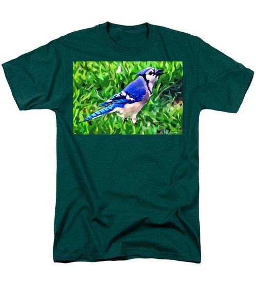 Blue Jay Men's T-Shirt  (Regular Fit) by Stephen Younts