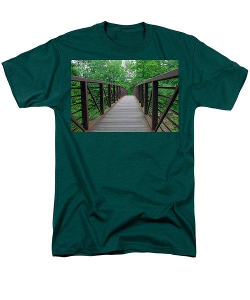 Bridging The Gap Men's T-Shirt  (Regular Fit) by Lisa Phillips