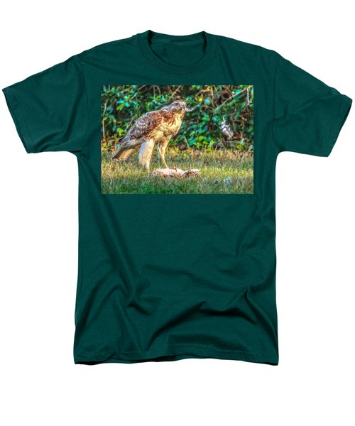 Buteo Jamaicensis Men's T-Shirt  (Regular Fit) by Rob Sellers