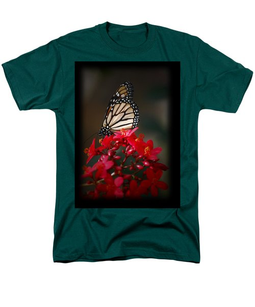 Men's T-Shirt  (Regular Fit) featuring the photograph Butterfly 6 by Leticia Latocki