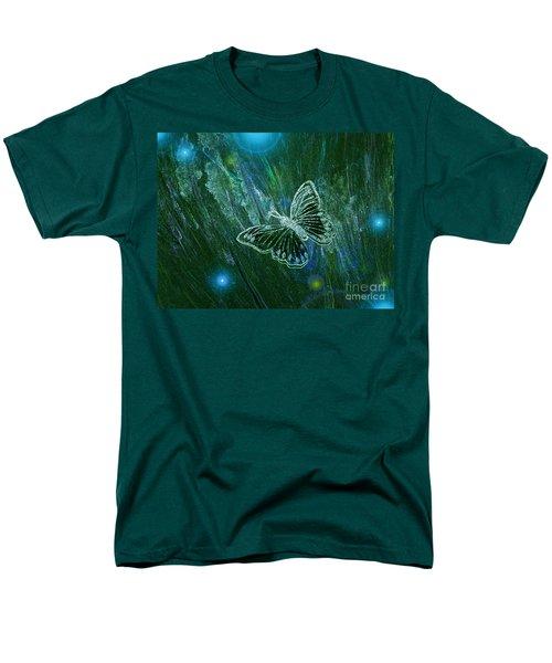 Butterfly Magic By Jrr Men's T-Shirt  (Regular Fit) by First Star Art