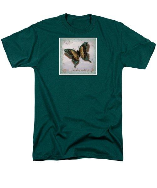 Butterfly Of Transformation Men's T-Shirt  (Regular Fit) by Bobbee Rickard