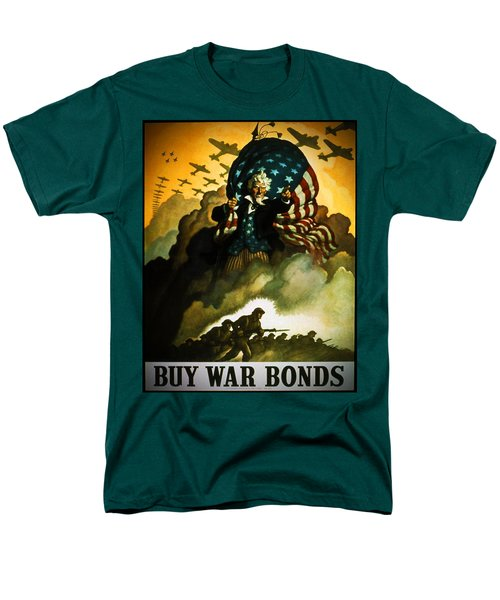 Buy War Bonds Men's T-Shirt  (Regular Fit) by Robert Geary