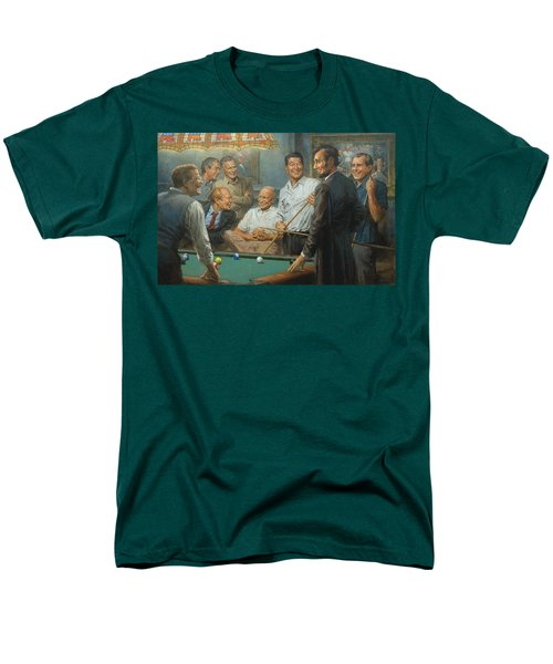 Callin The Blue Men's T-Shirt  (Regular Fit) by Andy Thomas