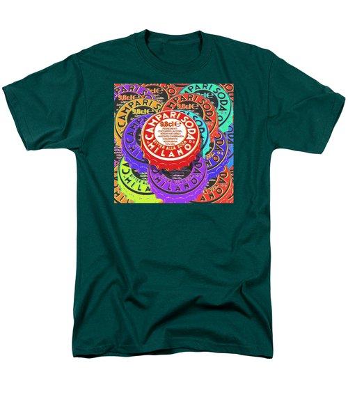 Campari Soda Caps Men's T-Shirt  (Regular Fit) by Tony Rubino