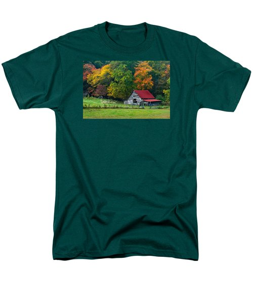 Candy Mountain Men's T-Shirt  (Regular Fit) by Debra and Dave Vanderlaan