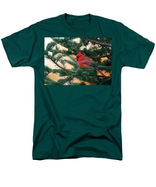 Cardinal In Balsam Men's T-Shirt  (Regular Fit) by Susan Capuano