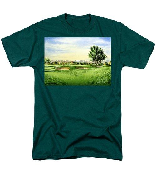 Carnoustie Golf Course 13th Green Men's T-Shirt  (Regular Fit) by Bill Holkham