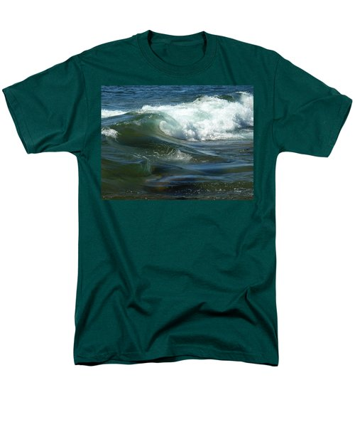 Men's T-Shirt  (Regular Fit) featuring the photograph Cascade Wave by James Peterson