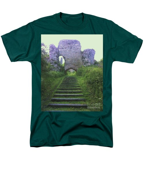 Men's T-Shirt  (Regular Fit) featuring the photograph Castle Gate by John Williams