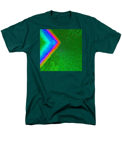 Chevron Rainbow C2014 Men's T-Shirt  (Regular Fit) by Paul Ashby