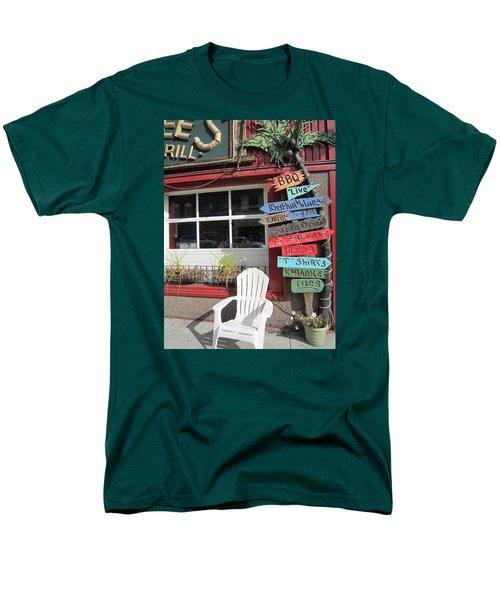 Men's T-Shirt  (Regular Fit) featuring the photograph Choice by Jieming Wang