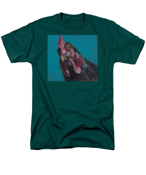Men's T-Shirt  (Regular Fit) featuring the painting Chuck by Pattie Wall