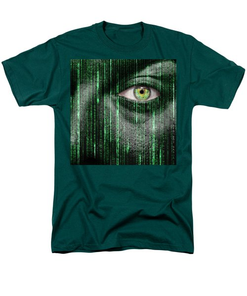 Code Breaker Men's T-Shirt  (Regular Fit) by Semmick Photo