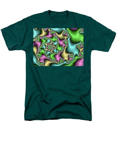 Men's T-Shirt  (Regular Fit) featuring the digital art Colorful Depth by Gabiw Art