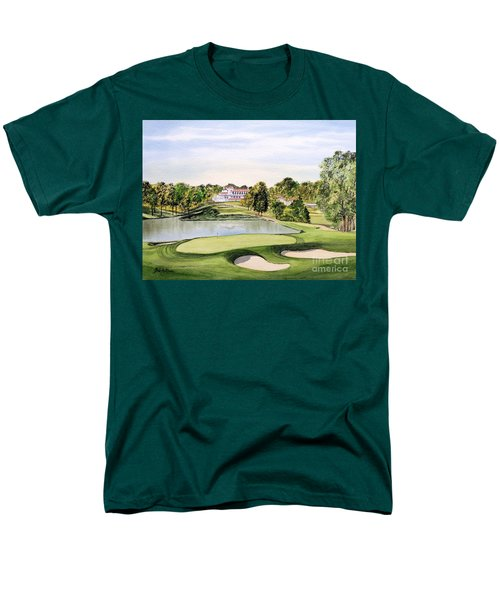 Congressional Golf Course 10th Hole Men's T-Shirt  (Regular Fit) by Bill Holkham