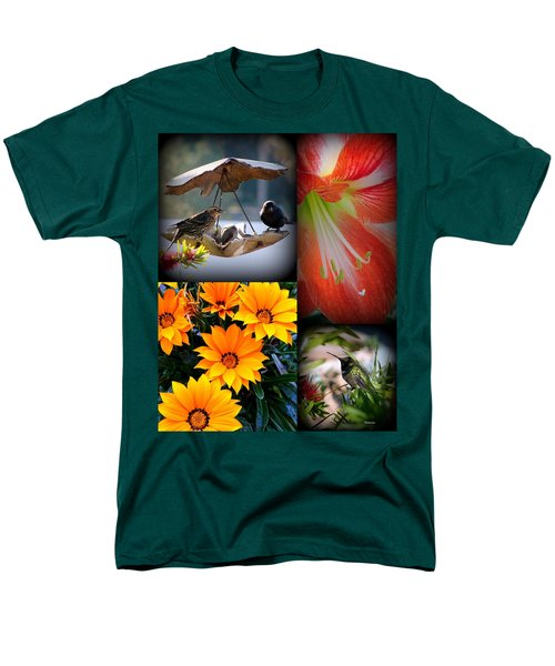 Cornucopia Garden Men's T-Shirt  (Regular Fit) by Priscilla Richardson