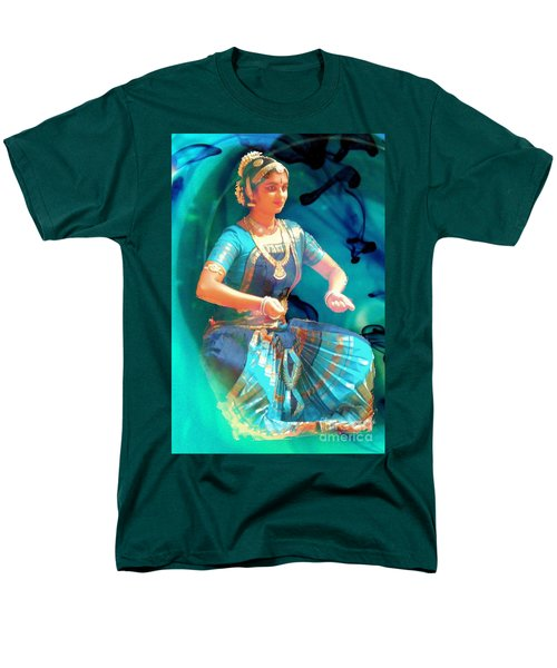 Dancing Girl With Gold Necklace Men's T-Shirt  (Regular Fit) by Janette Boyd