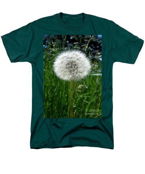 Dandelion Fluff Men's T-Shirt  (Regular Fit) by Kerri Mortenson