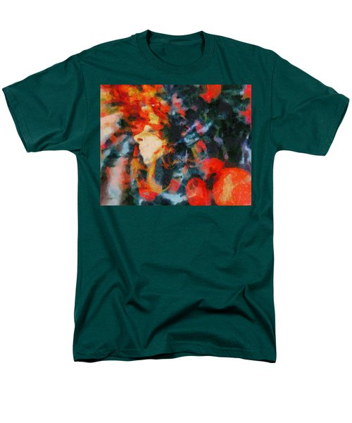 Men's T-Shirt  (Regular Fit) featuring the painting Dangerous Passion by Joe Misrasi
