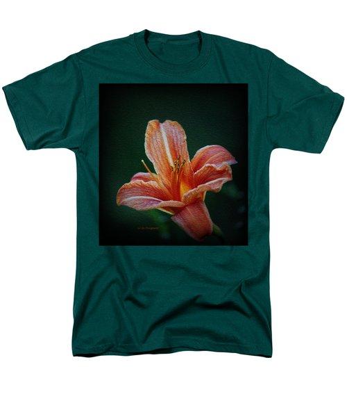 Day Lily Rapture Men's T-Shirt  (Regular Fit) by Jeanette C Landstrom