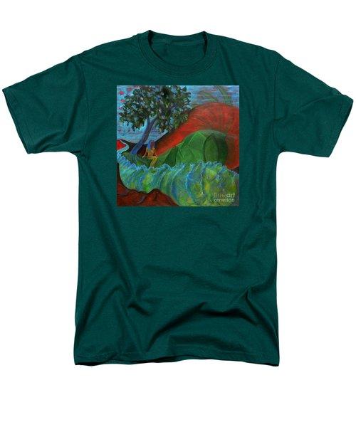 Uncertain Journey Men's T-Shirt  (Regular Fit) by Elizabeth Fontaine-Barr