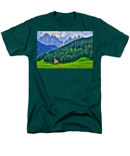 Deep In The Mountains Men's T-Shirt  (Regular Fit) by Midori Chan