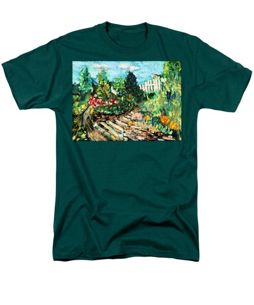 Delphi Garden Men's T-Shirt  (Regular Fit) by Michael Daniels