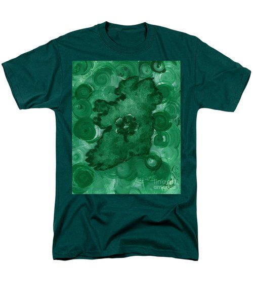 Eire Heart Of Ireland Men's T-Shirt  (Regular Fit) by Alys Caviness-Gober