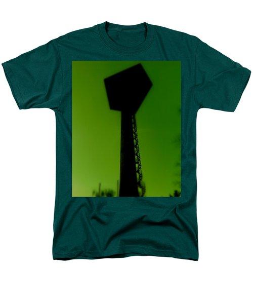 Men's T-Shirt  (Regular Fit) featuring the photograph Elastic Concrete Part Four by Sir Josef - Social Critic - ART