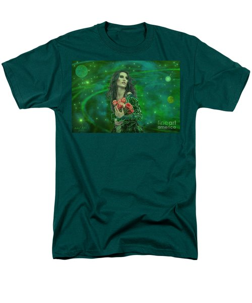 Emerald Universe Men's T-Shirt  (Regular Fit) by Michael Rucker